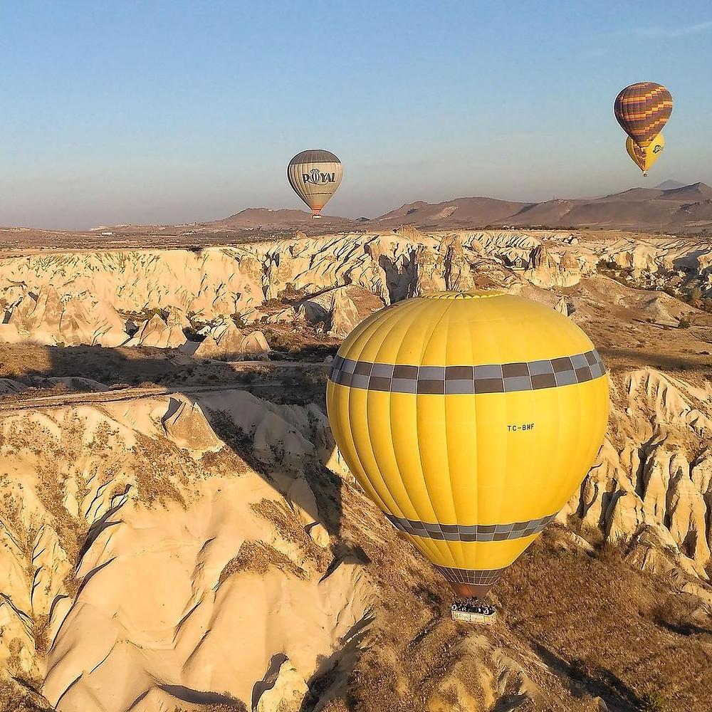 Каппадокия полет на шарах