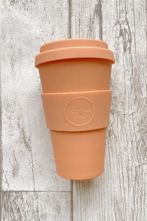 Ecoffee cup 400мл Счастливый час в Каталине экостакан из бамбука