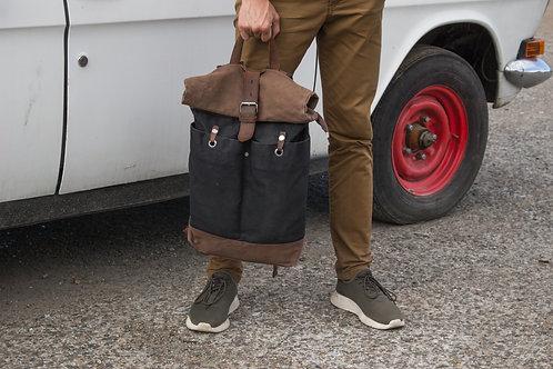 Рюкзак роллтоп N201 черный