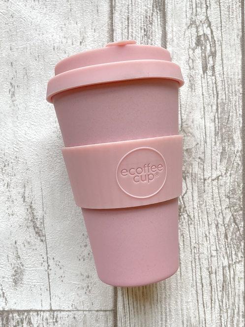 Ecoffee cup 400мл Пушок экостакан из бамбука