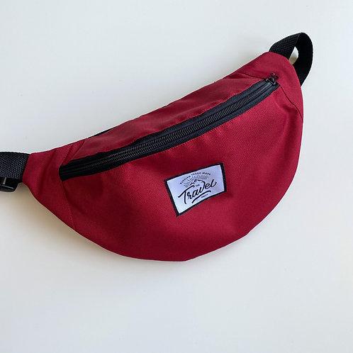 Поясная сумка TRAVEL Красная