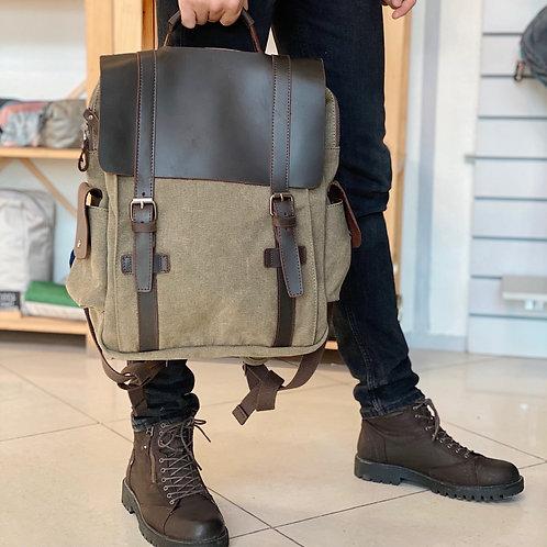Рюкзак N3.5 крафтовый хаки с отделением для ноутбука