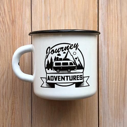 эмалированная кружка Journey adventures