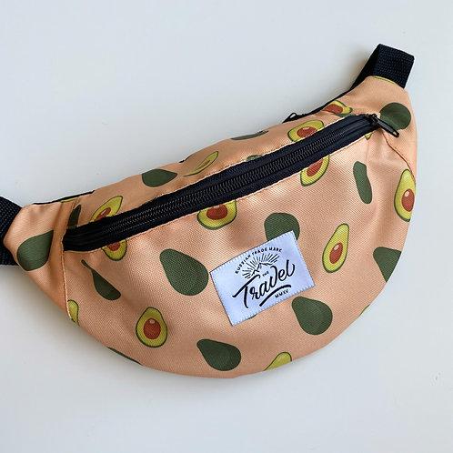 Поясная сумка TRAVEL Авокадо оранжевый