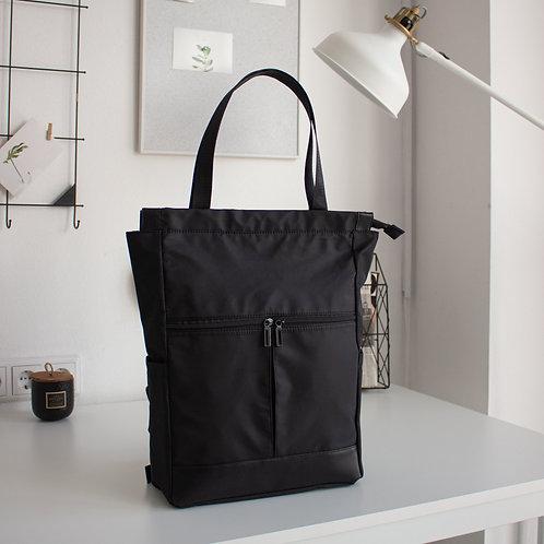 Рюкзак-сумка N102 черный