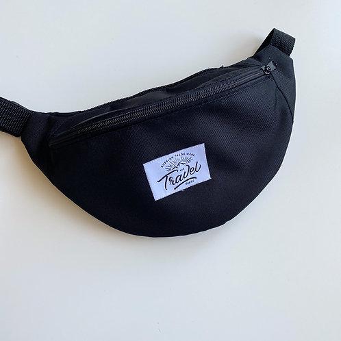 Поясная сумка TRAVEL черная