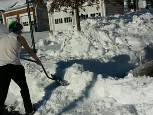 Snow Shoveling for Kenya