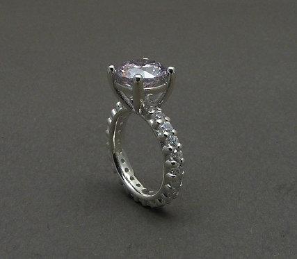 Fancy zirconia ring