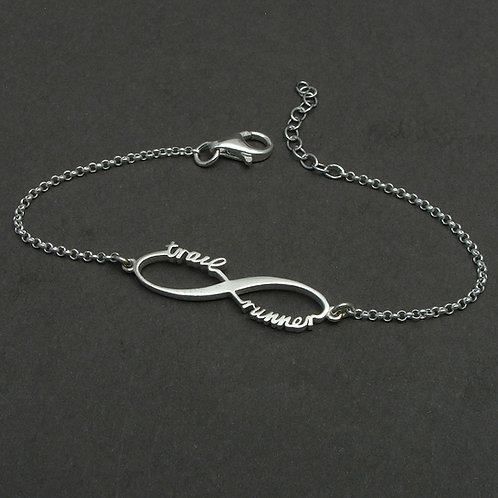 Infinity Run bracelet