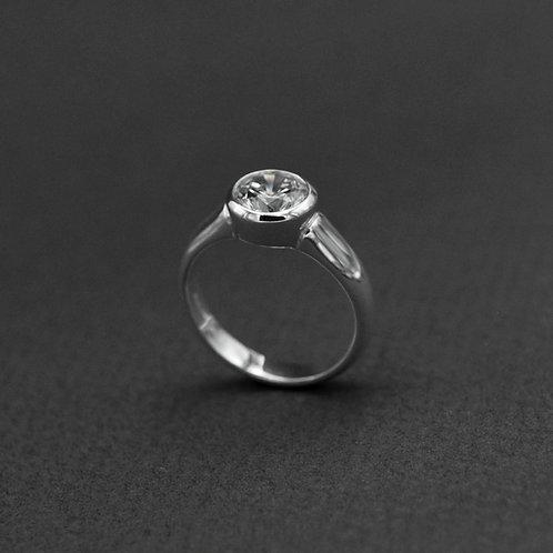 Classic zirconia ring