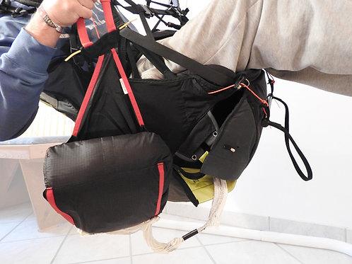 Kreuzkappe (ohne Packschlaufen) packen