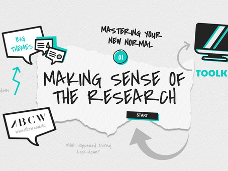 Mastering Your New Normal - Making Sense of Research