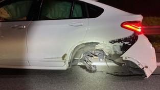 Hausen: 56-Jährige glaubte, sie sei auf der Autobahn und wechselte die Spur - heftiger Crash