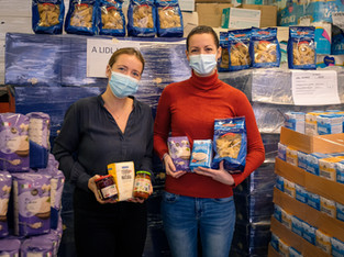 Kunden spenden 17'000 Produkte - Lidl Schweiz verdoppelt die Spende