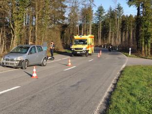Motorradfahrer in Kienberg und Wolfwil von Autos erfasst und verletzt