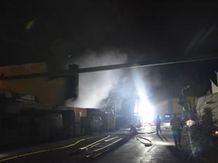 Büsserach: Brand in Industriegebäude
