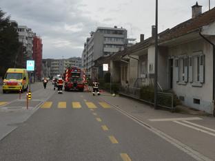 Olten: Unbewohntes Haus an der Ziegelfeldstrasse brannte
