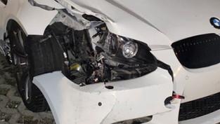 Holderbank: 20-Jähriger fuhr mit BMW M3 gegen Strassenlampe