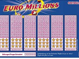 Hat jemand aus unserer Region bei Euro Millions 230 Mio. Franken gewonnen?