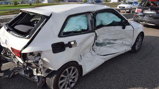 Oensingen: Auffahrkollision mit drei beteiligten Autos auf A1 – zwei Personen verletzt