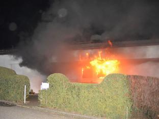 Fehren: Brand in Einfamilienhaus – Hausbewohnerin blieb unverletzt