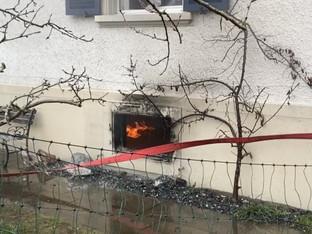 Oftringen: Brand verwüstet Einfamilienhaus an der Oberfeldstrasse