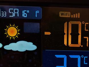 Kälteste Nacht dieses Winters: -11 Grad in den Niederungen