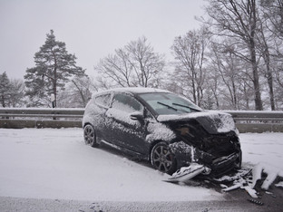 Kanton Solothurn: Erster Schneefall führte zu mehreren Unfällen