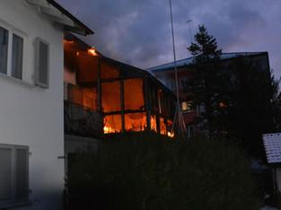Trimbach: Feuer im Wintergarten - niemand verletzt
