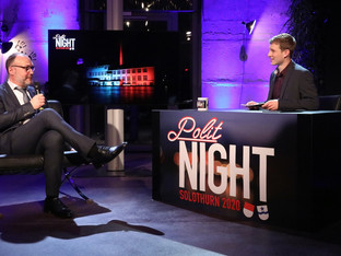 «Polit Night Solothurn 2020» erfrischend humorvoll - ab 17. Dezember auf JumpTV
