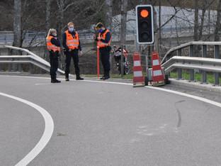 Beinwil: REGA-Einsatz nach Selbstunfall mit Motorrad