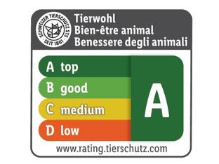 Lidl Schweiz bringt Tierwohlrating auf Fleischverpackungen an