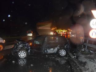 Flumenthal: Unfall auf A1 wegen Ablenkung durch Navi