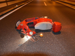 Biberist: Vespa-Fahrerin auf A5 im «Birchitunnel» gestürzt und schwer verletzt