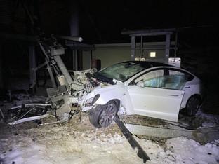 Oftringen: Mehrere hunderttausend Franken Schaden bei Unfall mit Tesla