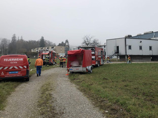 Chemieunfall in Rickenbach (SO) - niemand verletzt