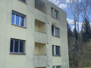 Rombachtäli: Wohnung durch Brand verwüstet