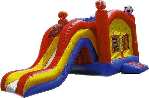 Sports Theme Bounce Slide Combo