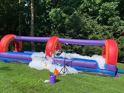 Slip n Slide with Foam Machine add on