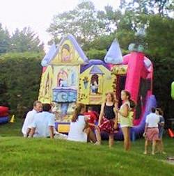 Disney Princess Theme Bounce Slide Combo