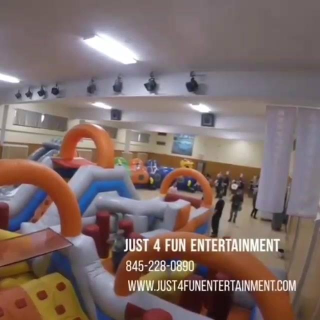 Kids having fun at Beekman Elementary School carnival