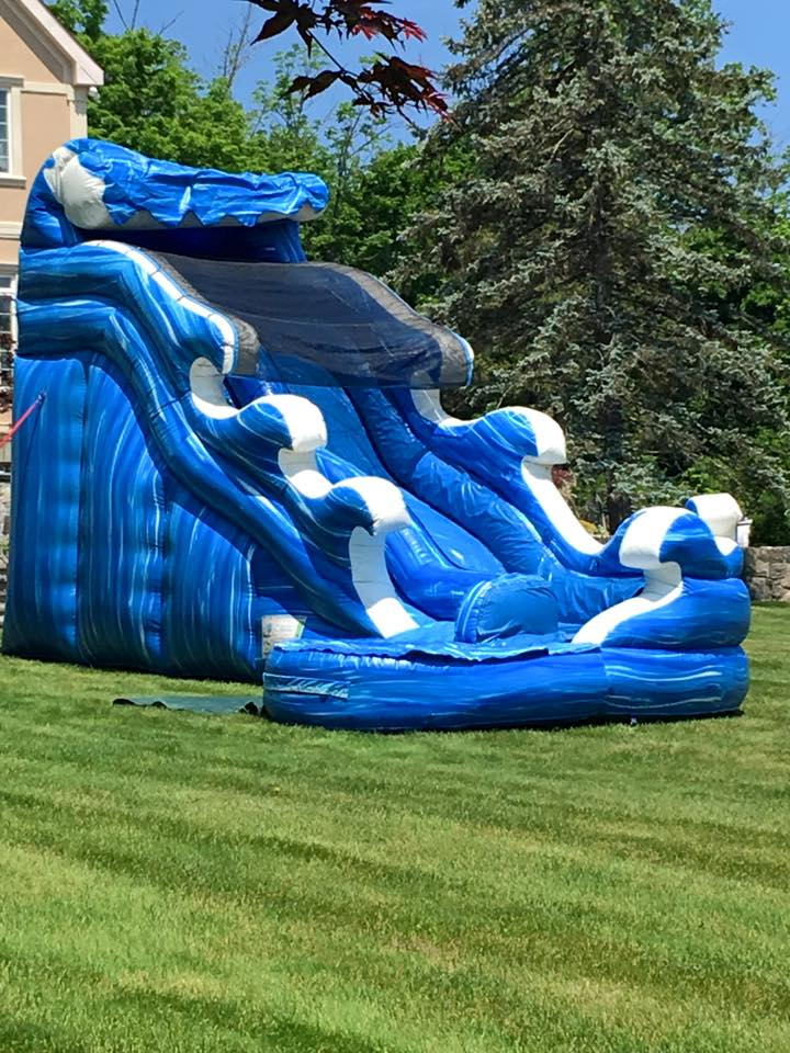 Surf a Curve Water Slide