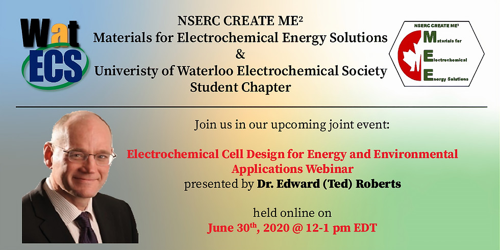 Electrochemical Cell Design for Energy and Environmental Applications Webinar