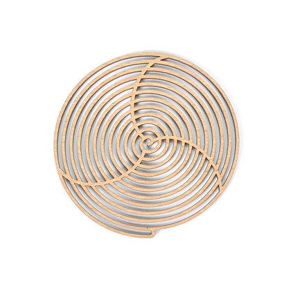 木製コースター:WIND - Etno Design