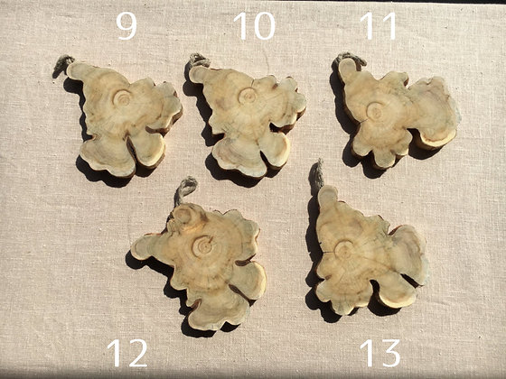 天然ジュニパーコースター(1点) No.9-13