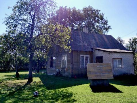 田舎の風景 - 木造家屋