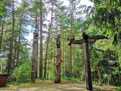 魔女の丘の彫刻(ネリンガ)