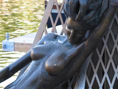 人魚の彫刻(クライペダ)