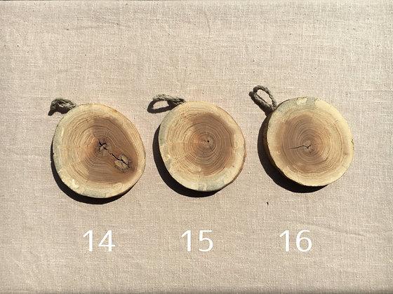天然エルムコースター(1点) No.14-16