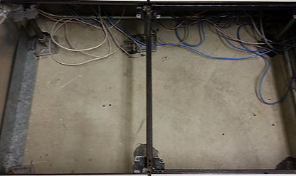DataCenter underfloor plenum cleaning
